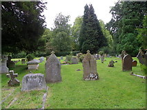ST9383 : Churchyard, The Church of the Holy Rood by Maigheach-gheal