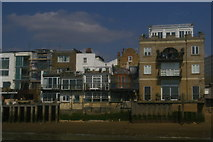 TQ3680 : Riverfront houses, Limehouse by Christopher Hilton