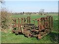 TL0393 : A dutch harrow masquerading as a gate by Michael Trolove