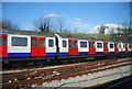 TQ3983 : District Line Train by N Chadwick