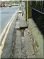SD8163 : Road side gutter by Alexander P Kapp