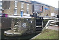 TQ3682 : Regents Canal - Mile End Lock by N Chadwick