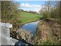TA1446 : Catfoss  Drain  from  Washdike  Bridge by Martin Dawes