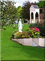 R6981 : Statue of the Virgin Mary in grounds of St. Molua's Church, Ogonnelloe, Co. Clare by P L Chadwick
