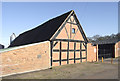 SO7793 : Old  barn at High Grosvenor near Claverley, Shropshire by Roger  Kidd