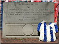 SK3390 : The Hillsborough Memorial (detail) by David Dixon