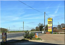 TM4069 : 'Jet' service station, Darsham, Suffolk by nick macneill