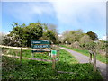 ST9101 : Spetisbury, trailway by Mike Faherty