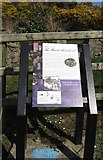 J1737 : A Bronte Homeland Trail Information Board by Eric Jones