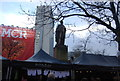 SJ8498 : Peel Statue, Piccadilly Gardens by N Chadwick