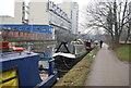 TQ3582 : Narrowboat, Regents Canal by N Chadwick