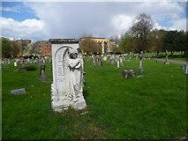 TQ2672 : Memorial in Streatham Cemetery by Marathon