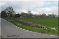 SK3089 : A glimpse of Loxley Grange from Rowel Lane by Robin Stott