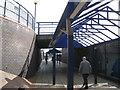 SK3587 : Sheffield Interchange, covered way to Sheaf Street by Robin Stott