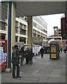 SK3587 : Exchange Street from Haymarket by Robin Stott