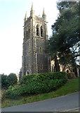 SH5638 : Tower, St John's Church, Porthmadog by Jaggery