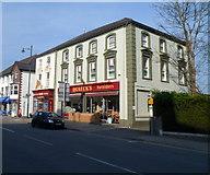 SH5638 : Quaeck's Furnishers, Porthmadog by Jaggery