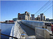 NZ2564 : The Millennium Bridge over the River Tyne by Ian S