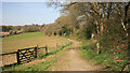 SX4472 : Once the mineral railway to Devon Great Consols by roger geach