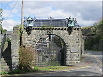 SH5730 : Coleg Harlech - Hen Fynedfa - Former Entrance by Alan Fryer