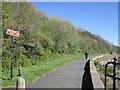 NZ2763 : Walking along the River Tyne towards Wallsend by Ian S