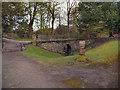 SD8034 : Stone Bridge, Gawthorpe Hall Plantation by David Dixon