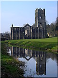 SE2768 : Fountains Abbey by Mark Percy