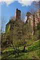NT2762 : Rosslyn Castle from below by Jim Barton