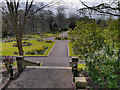 SD8103 : St Mary's Flower Park, Prestwich by David Dixon