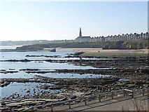 NZ3671 : Cullercoats Bay by Oliver Dixon