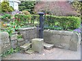 SK3852 : Village Water Pump in Pentrich by Jonathan Clitheroe