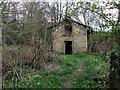 SE2247 : Abandoned Boathouse beside Farnley Lake by Chris Heaton