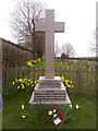 TG4216 : Repps with Bastwick War memorial by Helen Steed