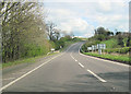 SJ5141 : A525 approaching border into England by John Firth