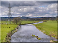 SD7733 : River Calder Near Altham by David Dixon