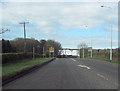 SJ5668 : A556 west entering Oakmere 50 limit by John Firth