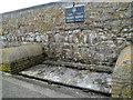SS8176 : Remnant of the Duffryn, Llynvi & Porthcawl Railway, Porthcawl breakwater by Jaggery