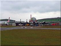 SZ1098 : Bournemouth - CL-44 Guppy by Chris Talbot