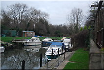 TR1859 : Boats on the Great Stour, Fordwich by N Chadwick