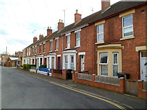 SO8318 : King's Barton Street houses, Gloucester by Jaggery