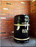 J5080 : Litter bin, Bangor by Rossographer