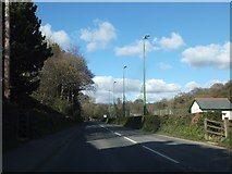 SX4975 : A386 passing Kelly College by David Smith