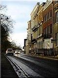 TQ1873 : The Terrace, Richmond Hill, on a showery evening by Stefan Czapski