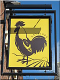NZ2465 : Sign for The Hancock, Jesmond Road West, NE2 by Mike Quinn