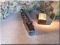 NT5984 : Replica gun, Tantallon Castle by Oliver Dixon