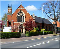 SO8317 : Gloucester Community Church, Gloucester by Jaggery