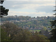 ST7465 : View of the hills from Royal Crescent by Robert Lamb