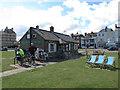 TR3751 : Sea Cafe, Walmer by Stephen Craven
