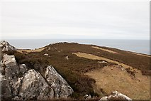 NR2171 : Just below the summit of Cnoc Uamh nam Fear, Islay by Becky Williamson
