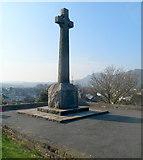 SH5639 : Grade II listed Porthmadog War Memorial by Jaggery